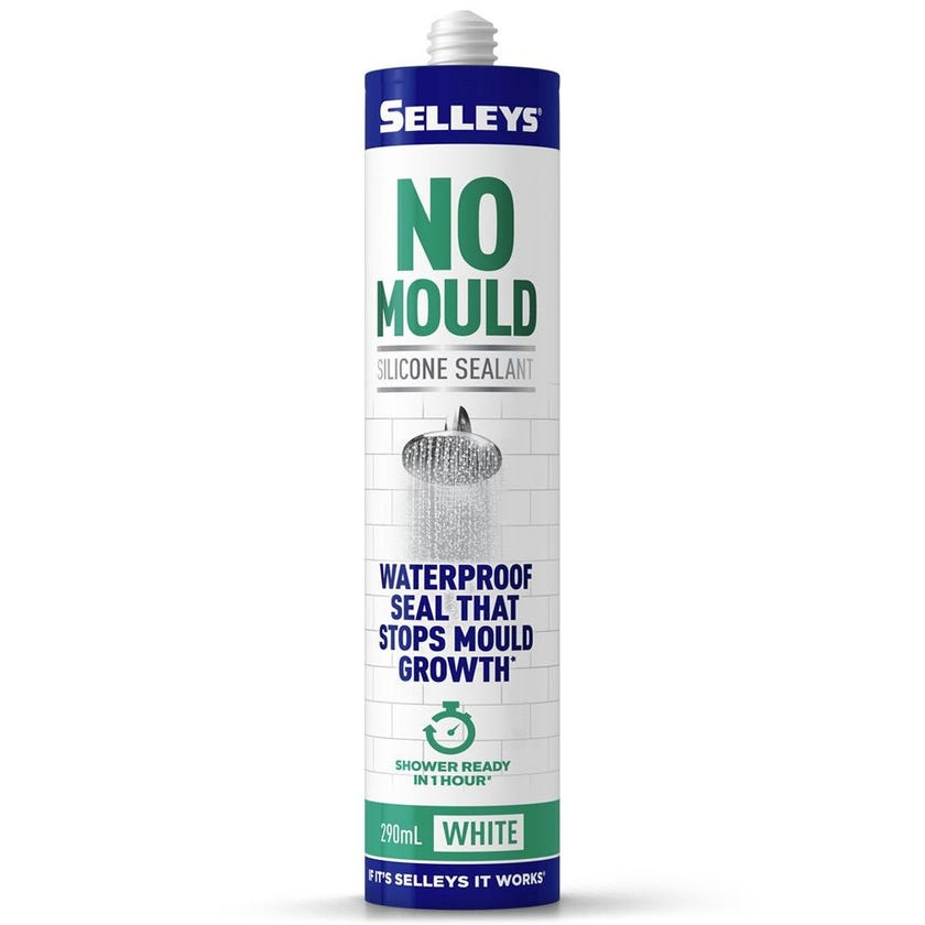 Selleys Sealant Silicone No Mould White 290ML