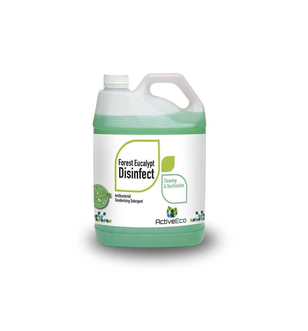 ActiveEco Disinfectant Forest Eucalyptus Anti-bacterial Detergent - 5L