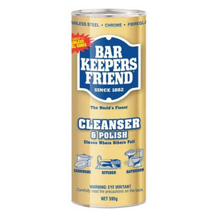 Cleanser & Polish Bar Keepers Friend 595G