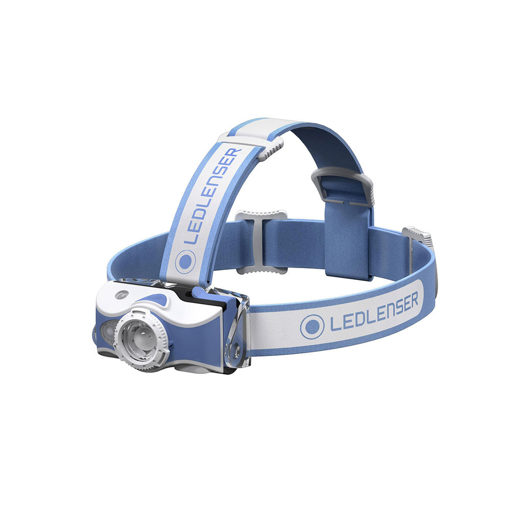 Headlamp Led Ledlenser Rechargeable Mh7 - 600Lm - Blue - Boxed