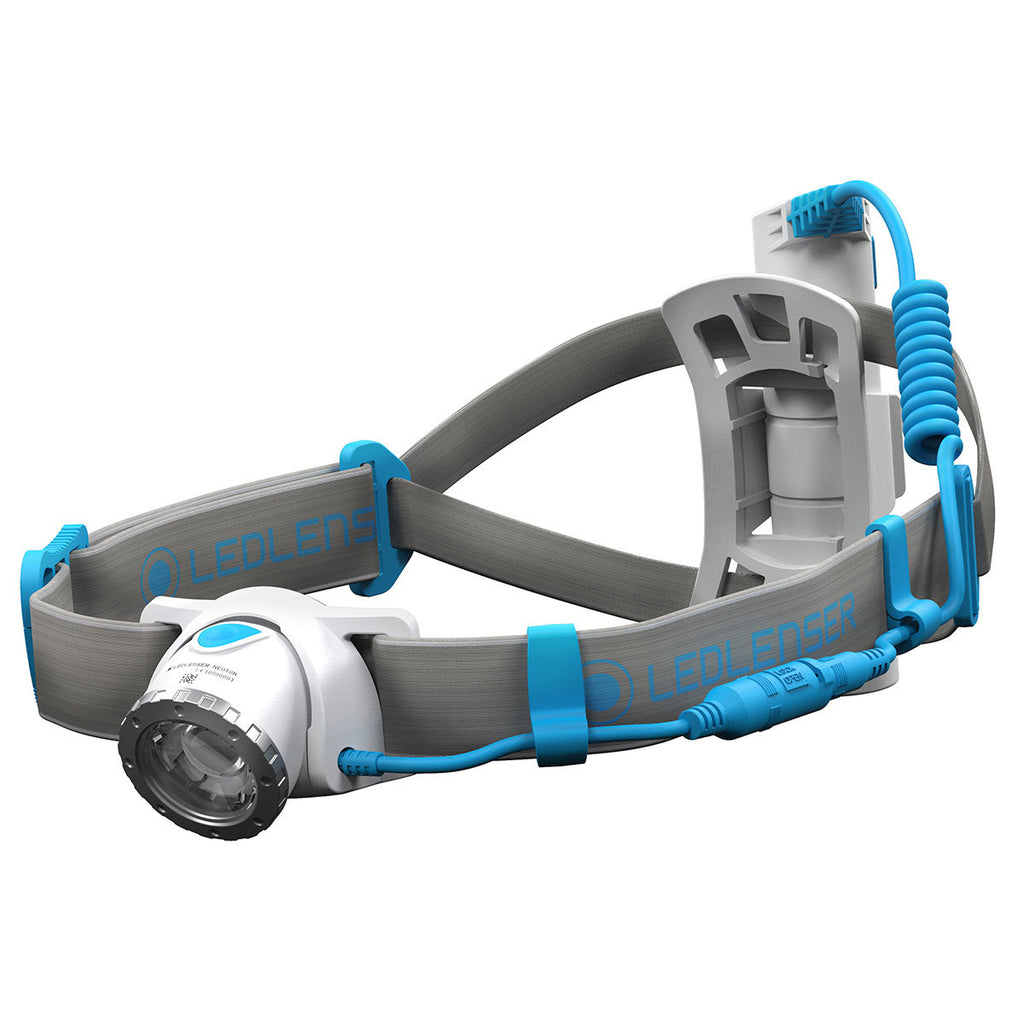 Headlamp Led Ledlenser Rechargeable Neo10R - 600Lm - Blue - Box