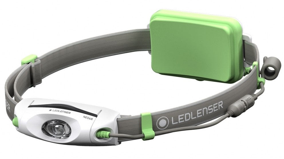 Headlamp Led Ledlenser Rechargeable Neo6R - 240Lm - Green - Box