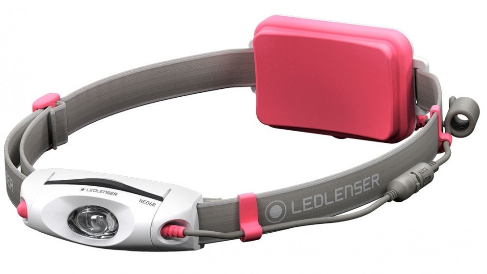 Headlamp Led Ledlenser Rechargeable Neo6R - 240Lm - Pink - Box