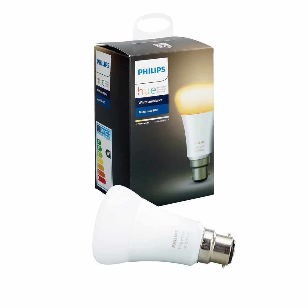 Lamp Philips Hue Ambiance White A60 9.5W Bc
