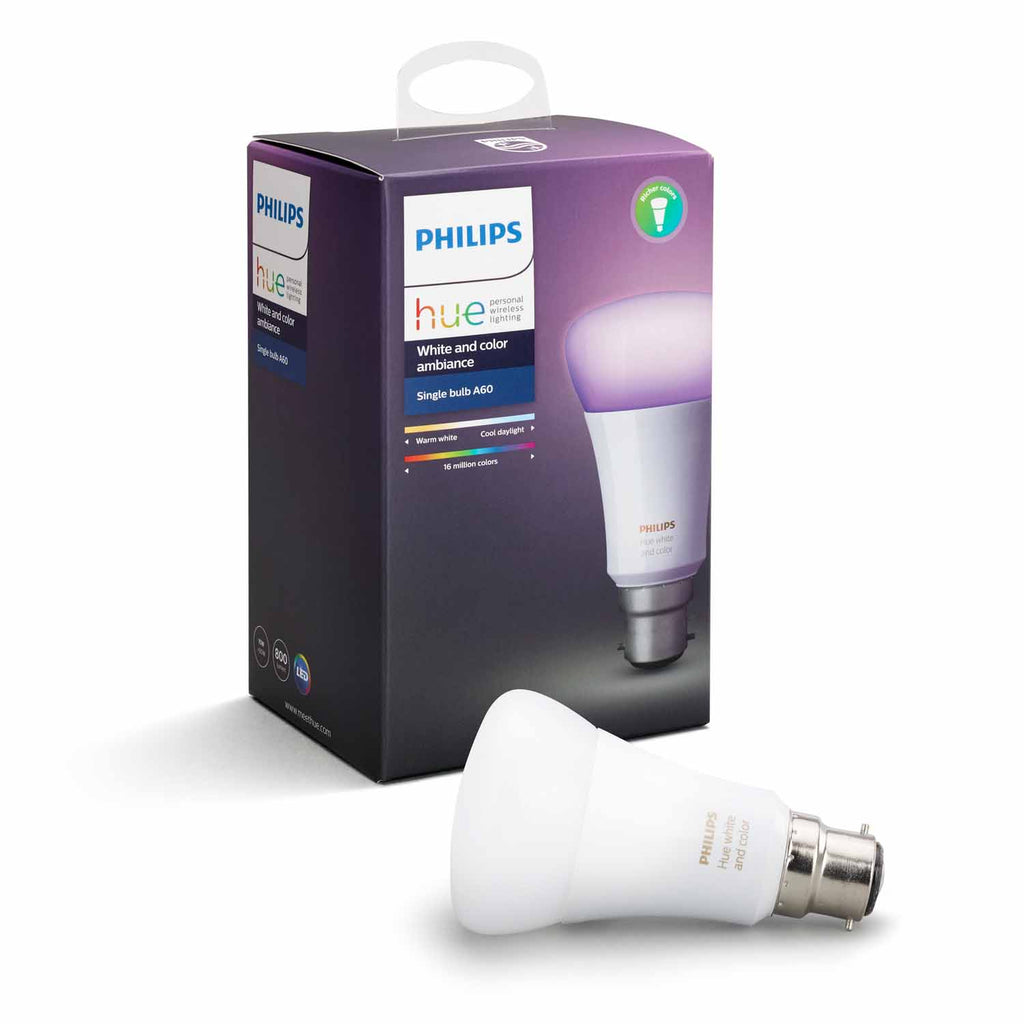 Lamp Philips Hue Ambiance White/Colour A60 10W Bc