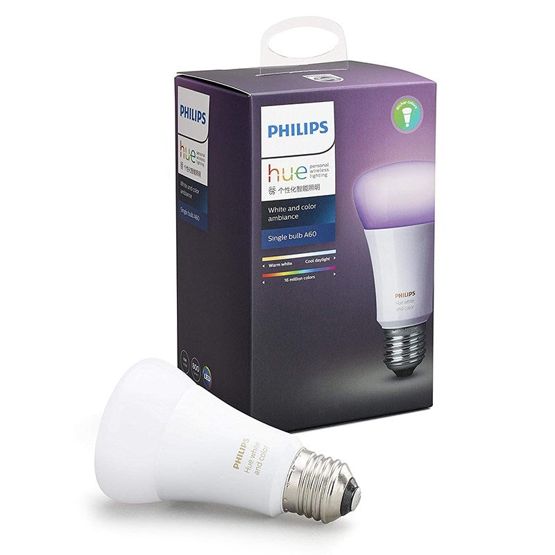 Lamp Philips Hue Ambiance White/Colour A60 10W Es