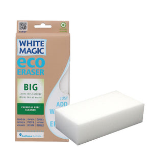 Sponge Eraser White Magic Eco Medium Pk1