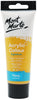 Mont Marte Acrylic Colour Paint Yellow Ochre 75ml