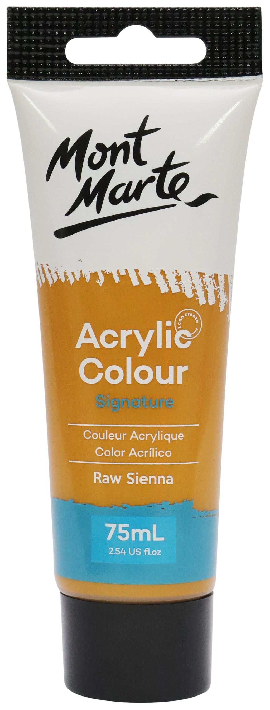 Mont Marte Acrylic Colour Paint Raw Sienna 75ml