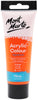 Mont Marte Acrylic Colour Paint Orange 75ml