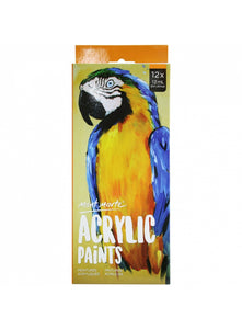Mont Marte Acrylic Paints 12Pce x 12ml