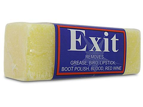 Block Stain Remover Exit