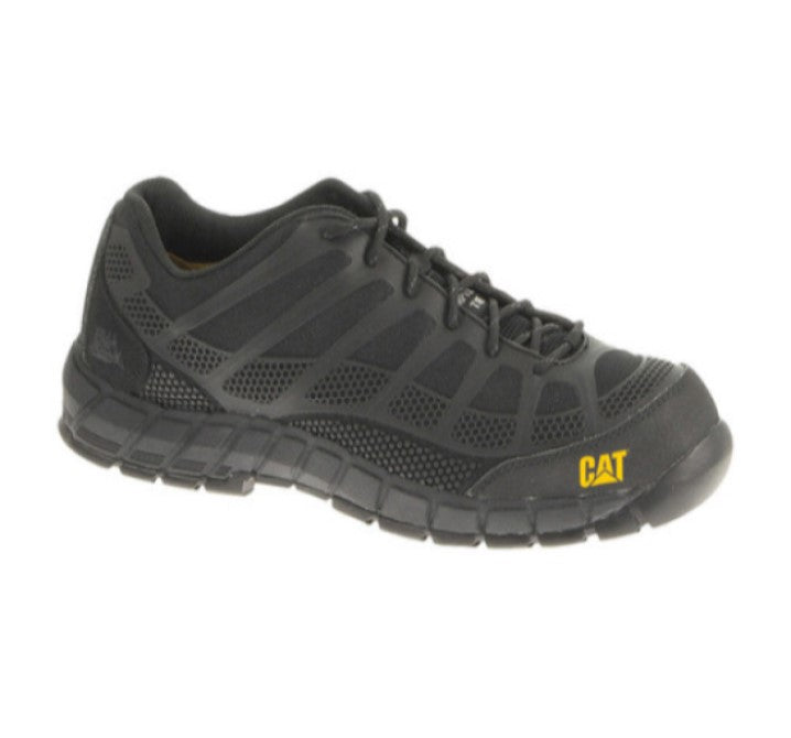 Shoe Safety Cat Streamline Ct Black Us #8