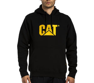 Sweatshirt Cat Hooded Trademark Black Xlge