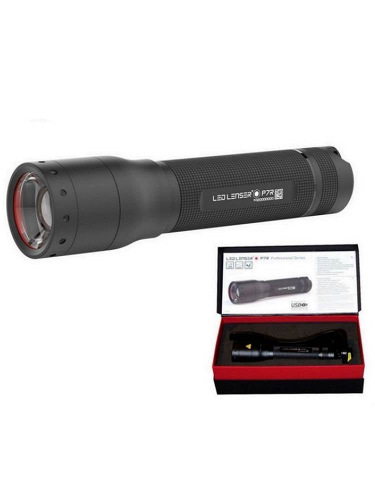 Torch Led Ledlenser Rechargeable P7R - 1000Lm - Boxed