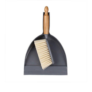 Dustpan & Brush Set White Magic Eco Basics