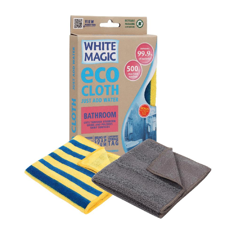 Cloth Microfibre White Magic Eco Bathroom