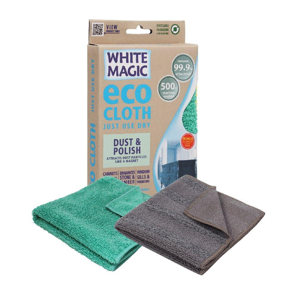 Cloth Microfibre White Magic Eco Dust & Polish