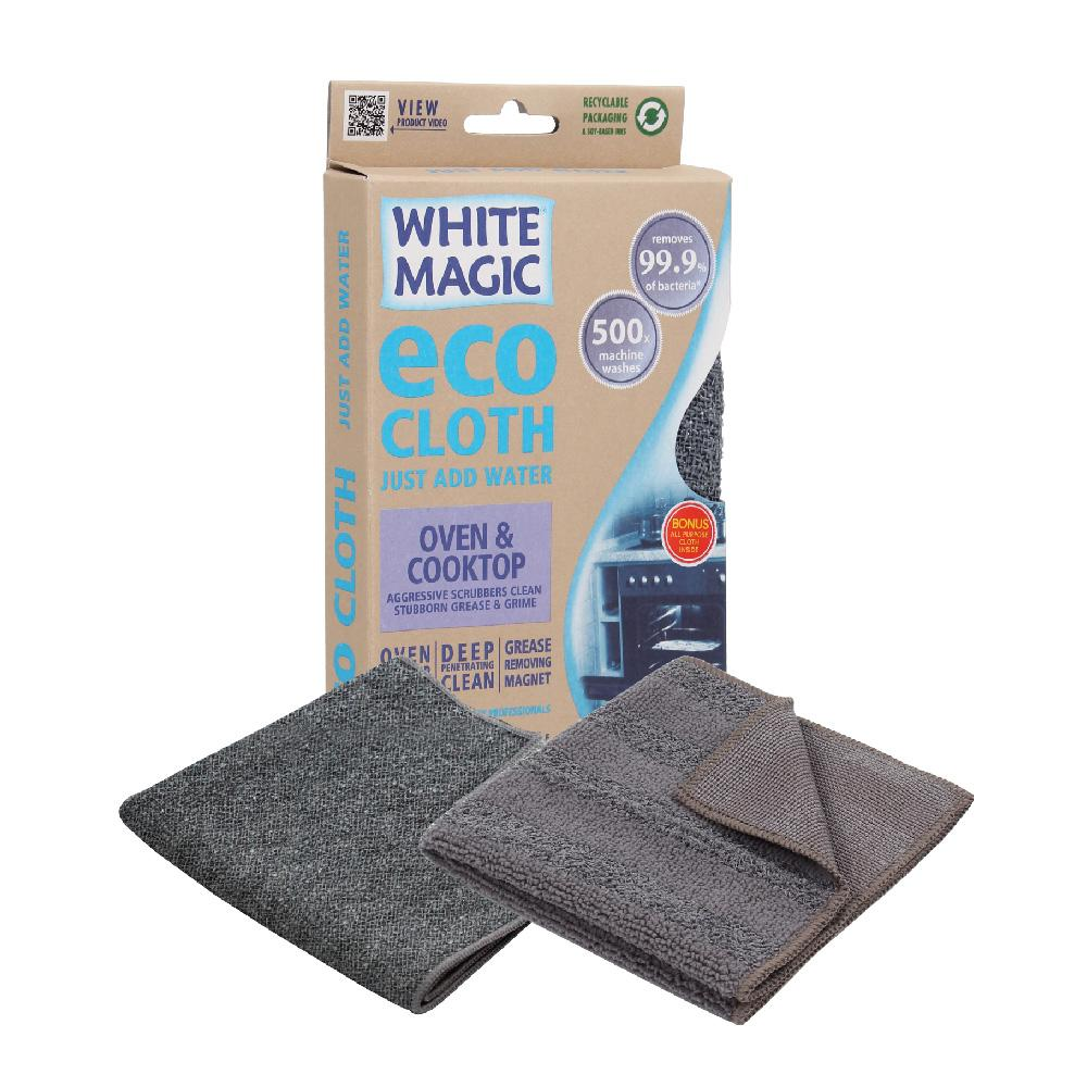 Cloth Microfibre White Magic Eco Oven & Cooktop