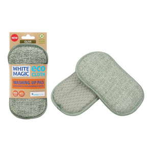 Pad Washing Up White Magic Eco Olive