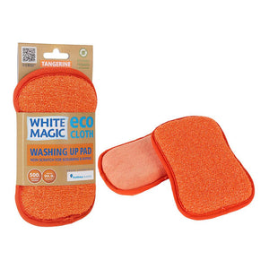 Pad Washing Up White Magic Eco Tangerine