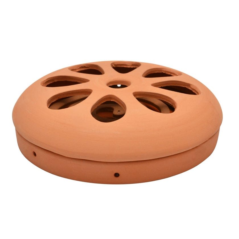 Terracotta Holder with 6 Coils
