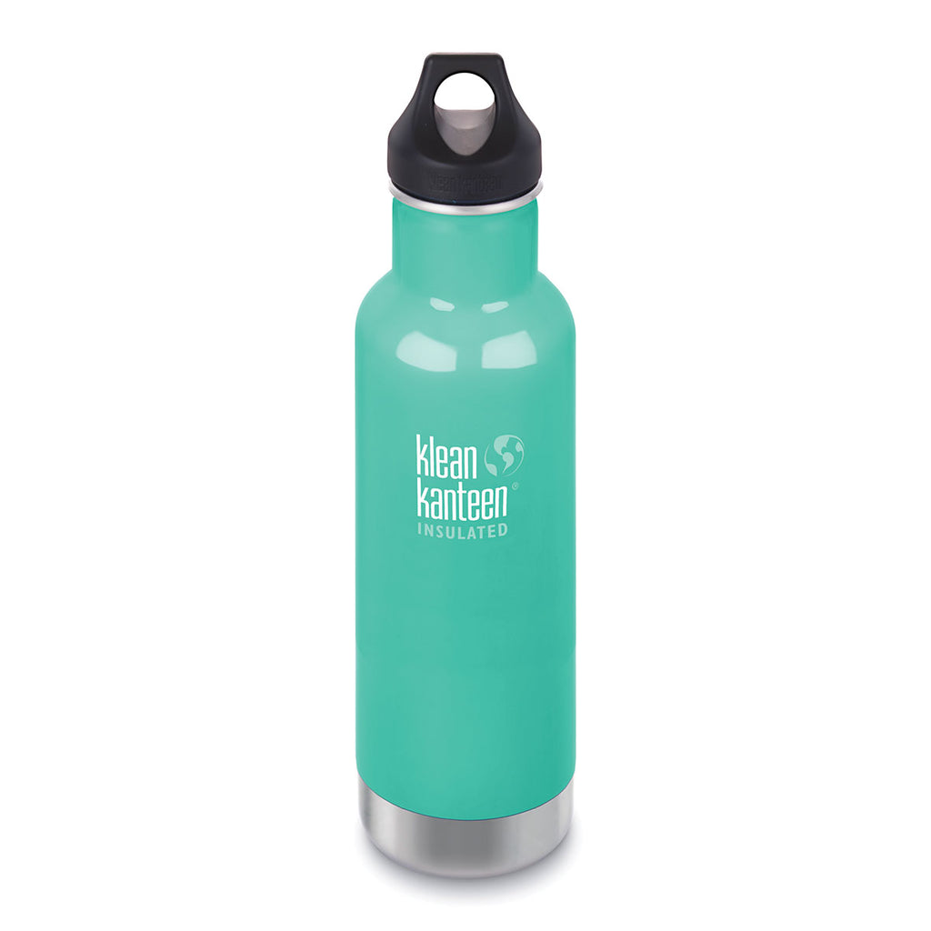Klean Kanteen 20oz Insulated Classic Loop Sea Crest