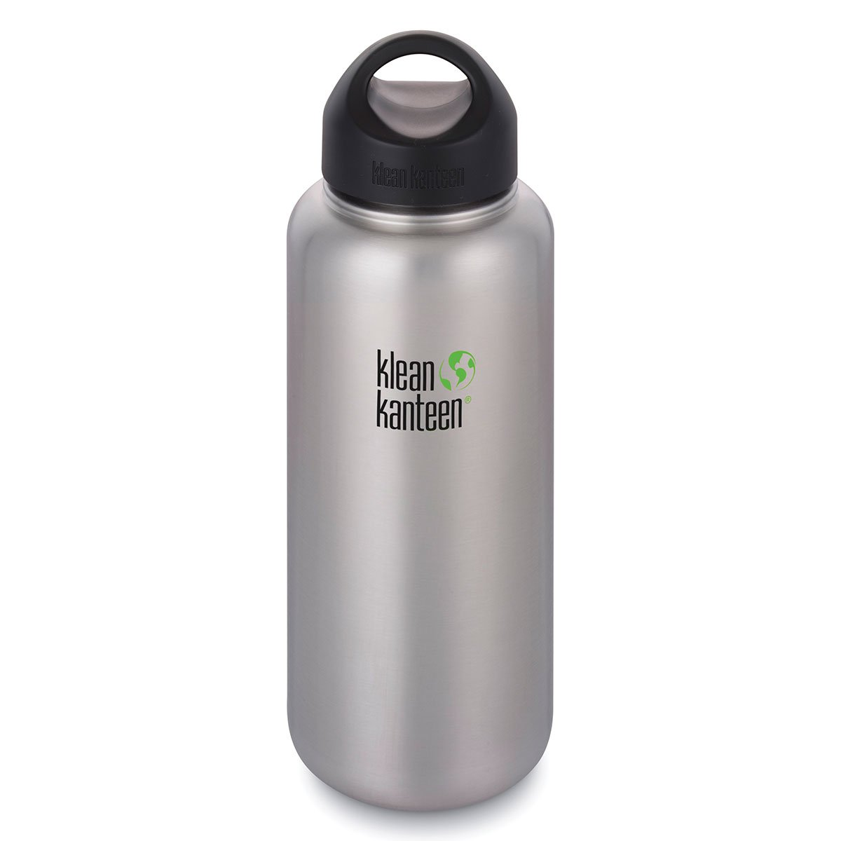 Klean Kanteen 64oz Wide Loop Cap Brushed Stainless