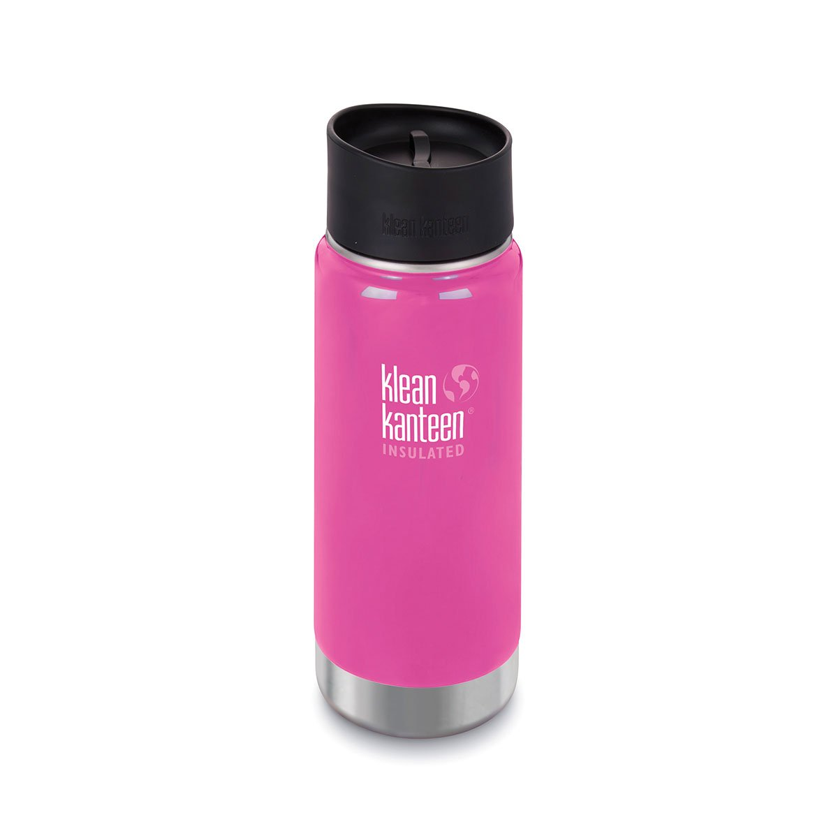 Klean Kanteen 16oz Wide Insulated Cafe Cap Wild Orchid