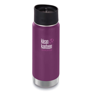 Klean Kanteen 16oz Wide Insulated Cafe Cap Winter Plum