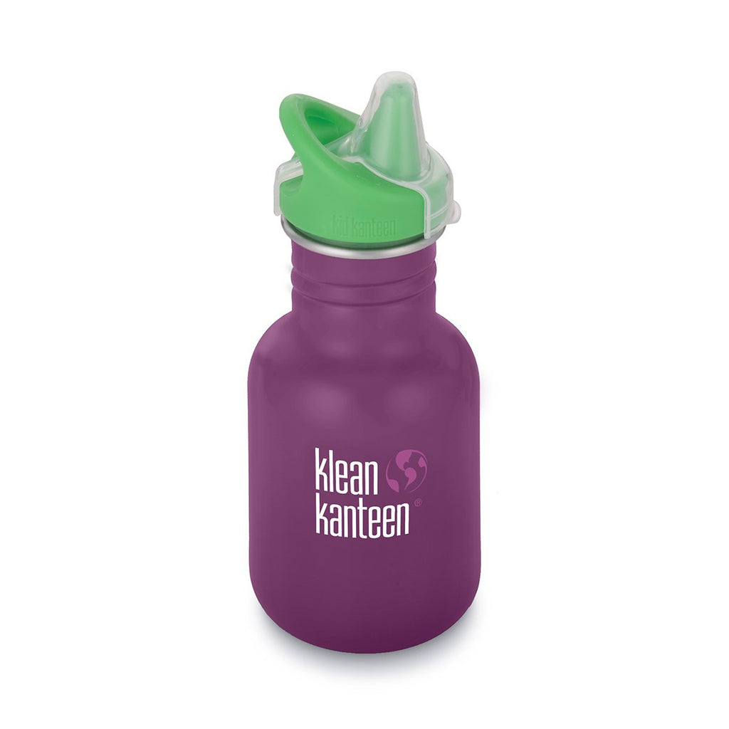 Klean Kanteen 12oz Classic Kid Sippy Cap Winter Plum