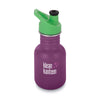 Klean Kanteen 12oz Classic Kid Sport Cap Winter Plum