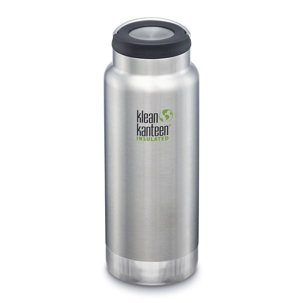 Klean Kanteen TKWide 32oz (w/Wide Loop Cap) Brushed Stainless