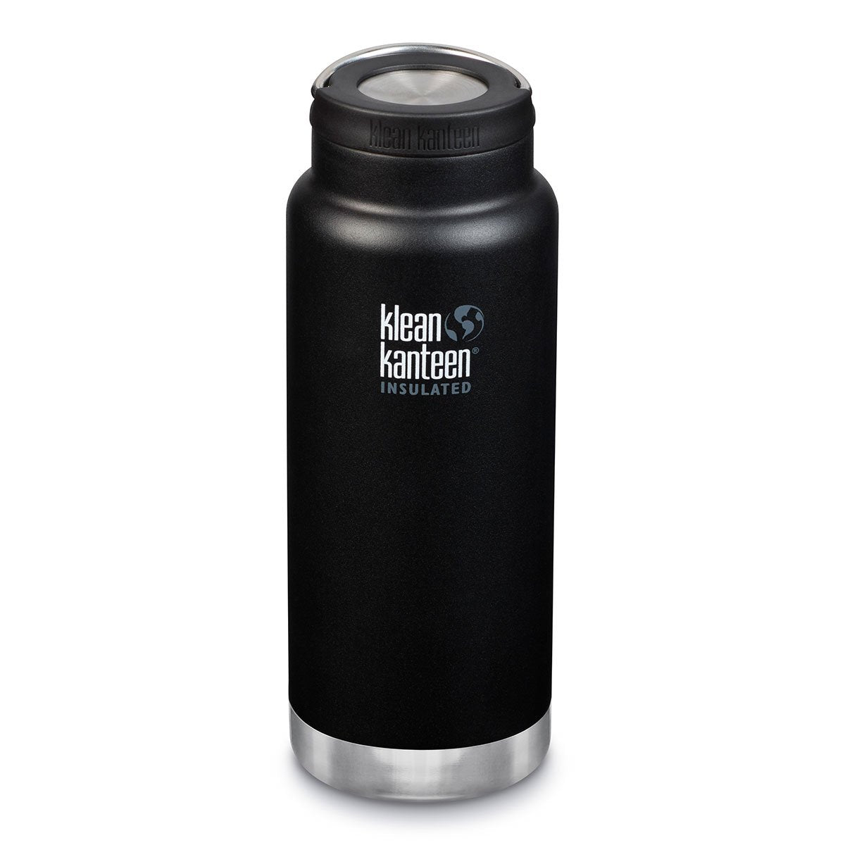 Klean Kanteen TKWide 32oz (w/Wide Loop Cap) Shale Black