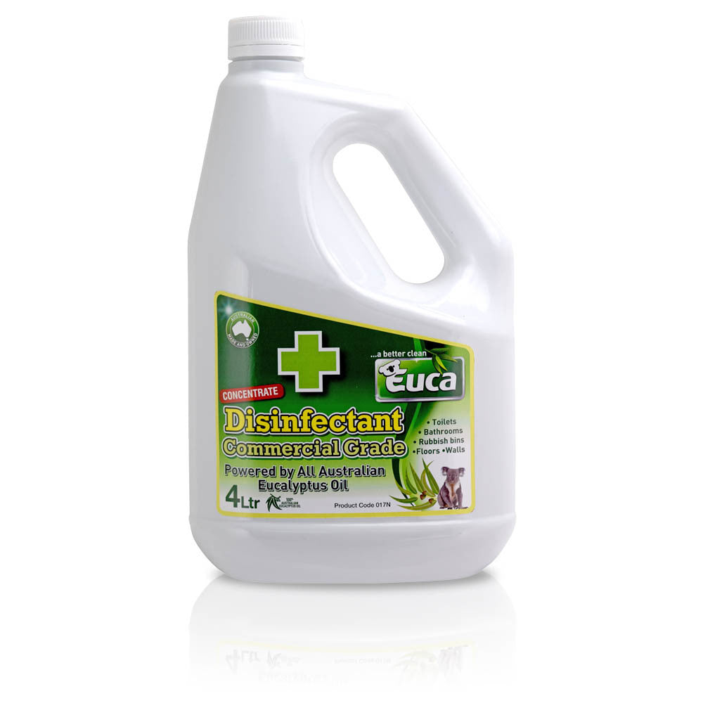 Euca Disinfectant Natural  & Commercial Grade Cleaner - 4L