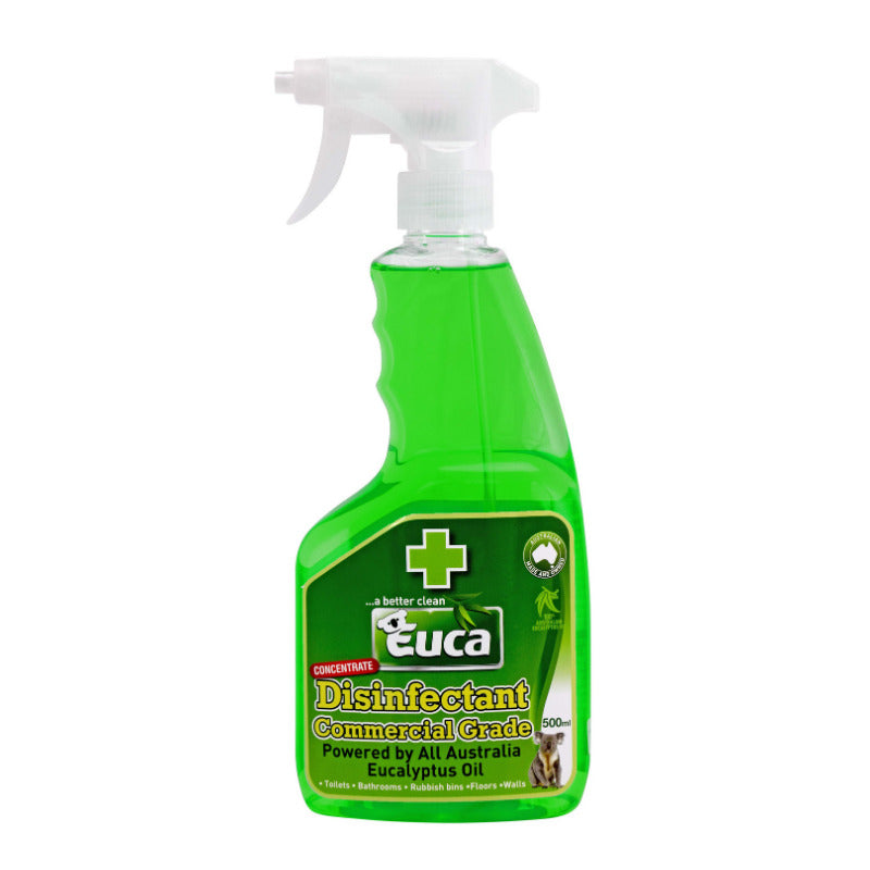 Euca Disinfectant Natural & Commercial Grade Cleaner - 500ml Spray