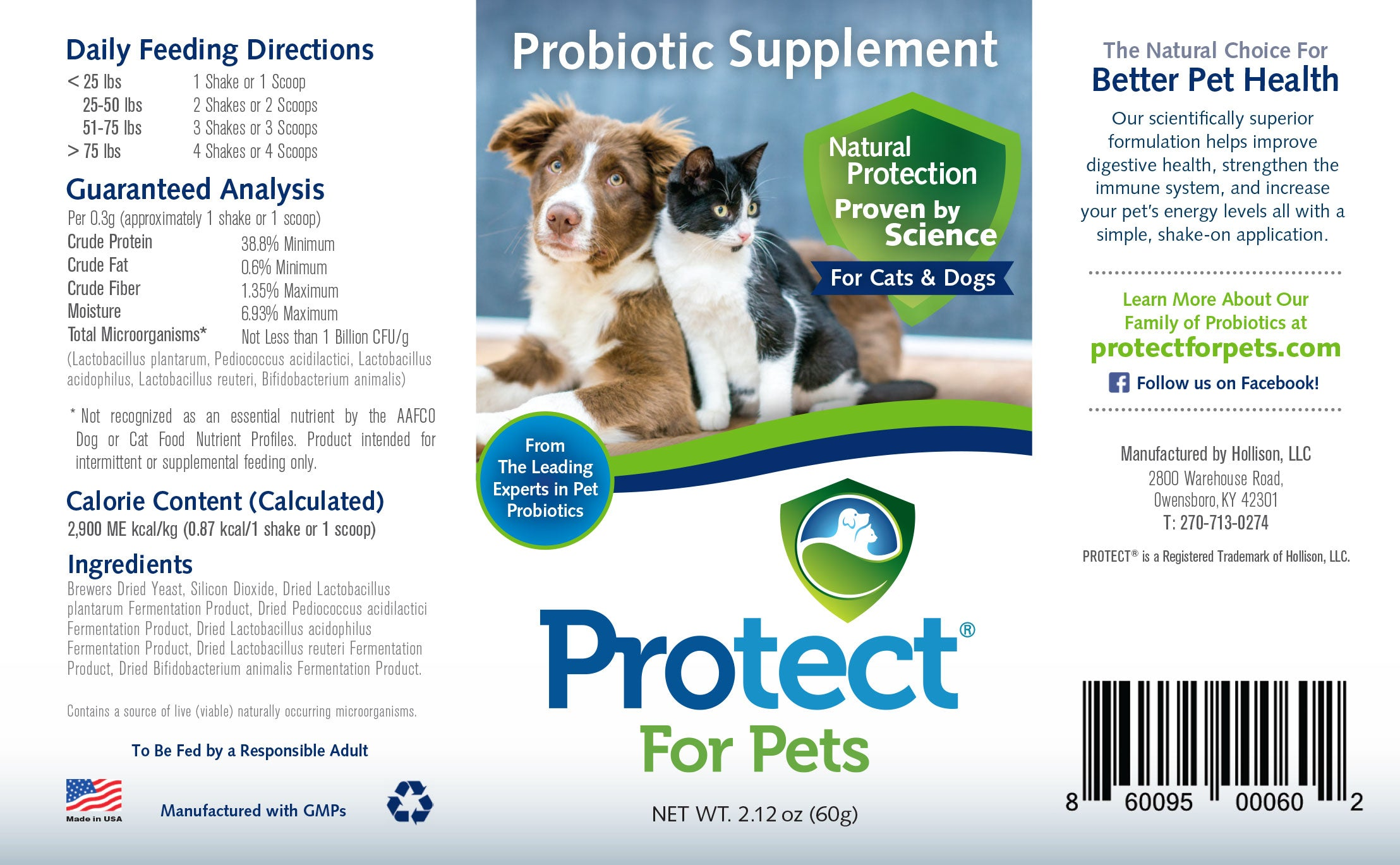 Protect for Pets Nutrition Guide