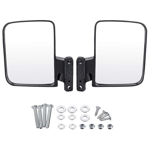 Universal Folding Side View Golf Cart Mirrors