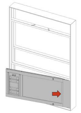 install the thermo sash