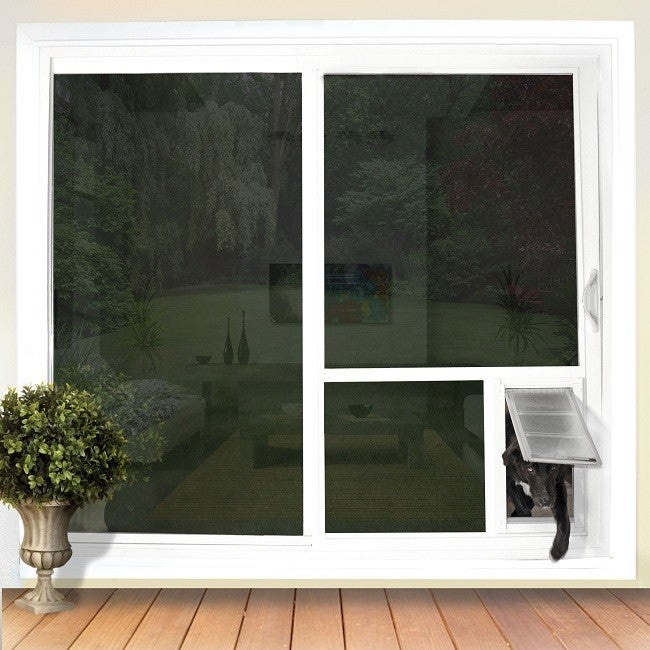 In the Glass Pet Door | Installed Directly Into Your Sliding Glass Door Doggie Door