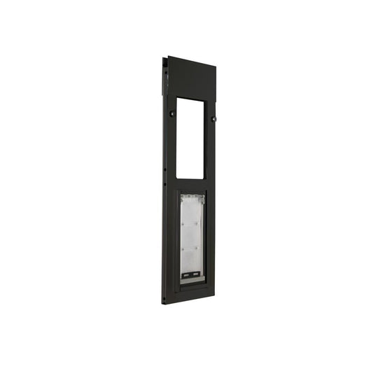 bronze endura flap cat door for sliding windows