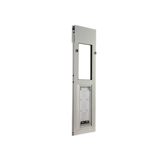 brushed aluminum endura windows cat door