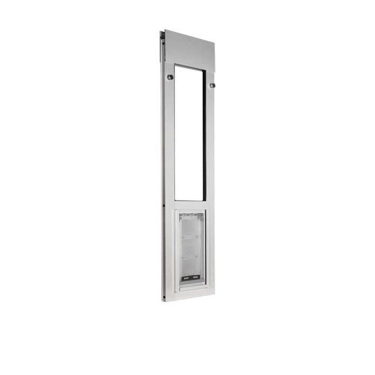 endura flap small sliding windows pet door secured by tension fit