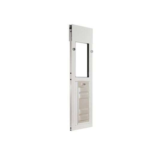 white endura flap small sliding windows cat door