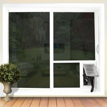 Through the Glass - Have a Pet Door in the Glass of Your Sliding Glass Door!