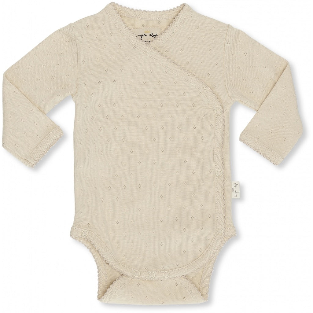 ORGANIC COTTON NEWBORN BODY Peach