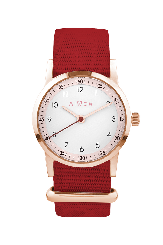 MILLOW WATCH BLOSSOM, RED PARIS