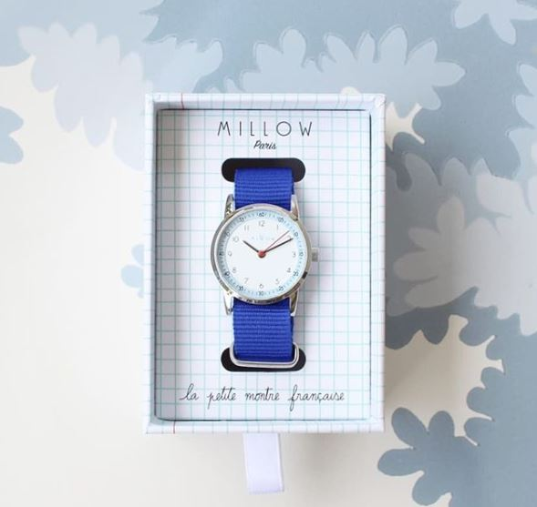 MILLOW WATCH CIEL, ROYAL BLUE