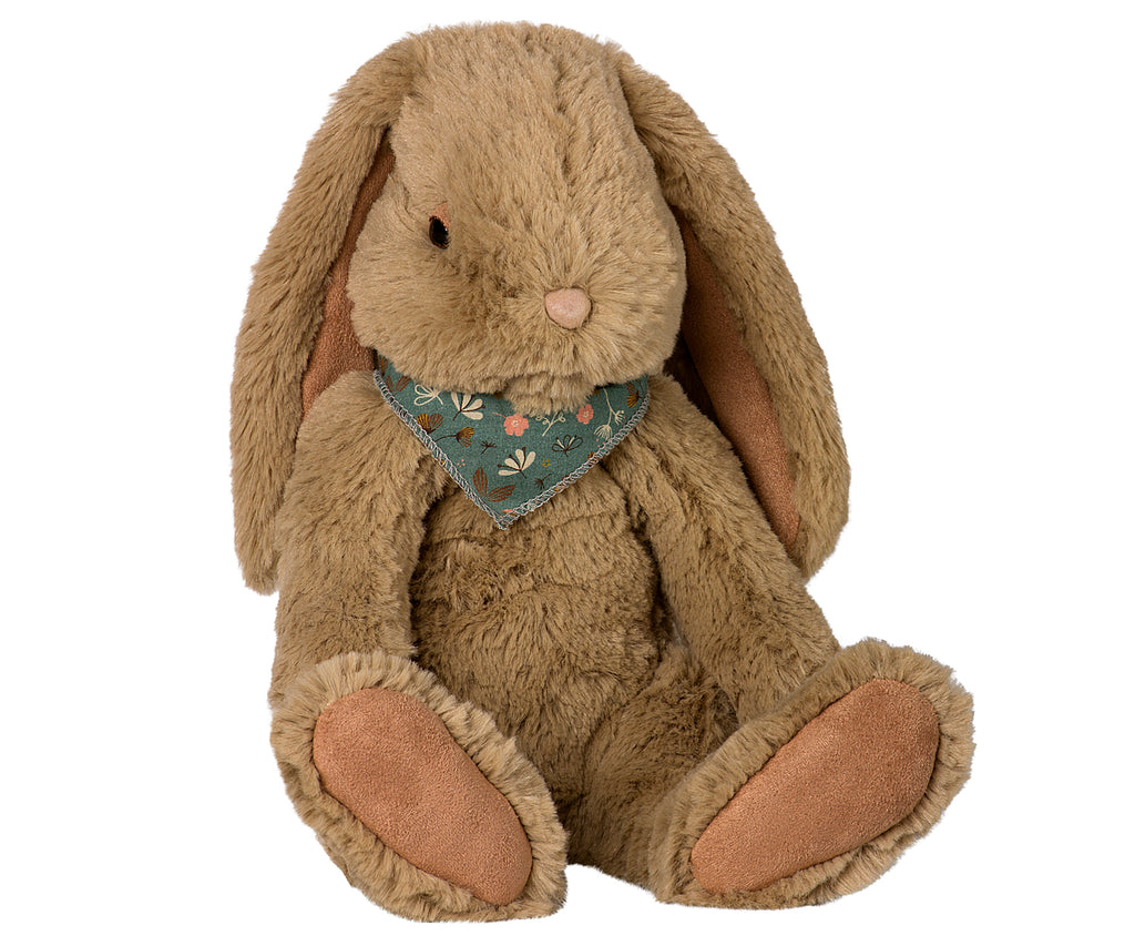 FLUFFY BUFFY BUNNY Large, Dusty brown
