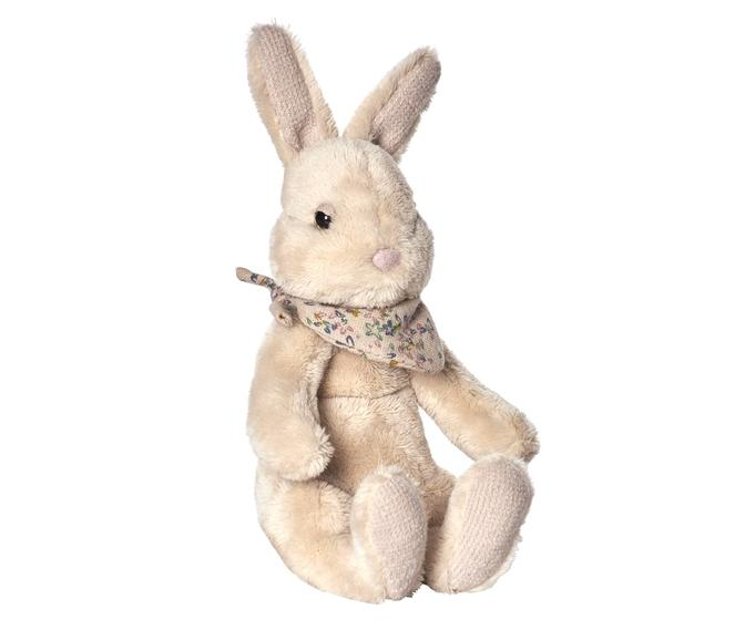 FLUFFY BUFFY BUNNY Small, Light beige